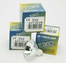 EIKO, Made In Japan, Three ENX Projection Bulbs 82v 360w. Unused. Boxed.