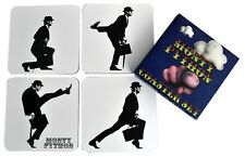 Monty Python - Silly Walk Coaster Set (4-coasters) NEW * ministry of silly walks