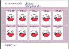 Vel persoonlijke postzegels Roze kader 2007 De Zijl Femke Heemskerk postfris