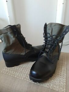 Vtg 1968 Military Issue 13 R Vietnam War Spike Protective Jungle Combat Boots