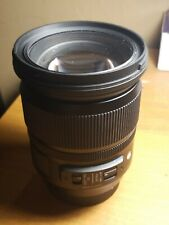 Sigma Art 24-105mm f4 DG OS HSM for canon EF mount