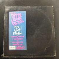 The Boogie Boys - You Ain't Fresh LP VG+ V-15207 Capitol 1985 USA Vinyl Record
