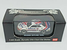 KYOSHO 1:64 BEADS COLLECTION - Nº 049 REEBOK SKYLINE 1990 NISSAN NEW