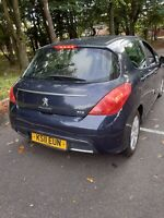 Peugeot 308 1.6 e-HDI 2011 Active 115BHP 5 Door Hatchback 6 speed manual
