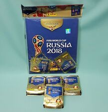 Panini WM 2018 Russia World Cup Sticker Hardcover + 100 Tüten / 500 Sticker