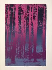 THE WOODS II, Extremely Limited Edition, Screen Print, Signed & # by the Artist