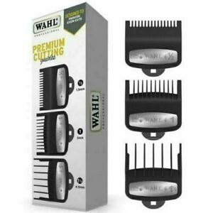 Wahl Premium Cutting Guides Pack of 3 Comb Set (0.5-1-1.5)