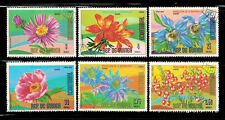 Equatorial Guinea Small Collection Lot Used Flowers Stamps