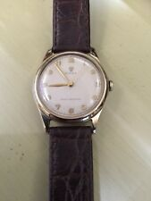 Just Beautiful 1952/53 Solid 9ct Gold Rolex Precision Ladies 30mm Vintage Watch
