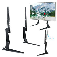 15°Tilt TV Table Top Vesa Base Mount Stand for LCD LED Flat Screen 27 to 55 Inch