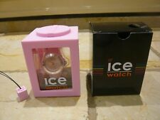 Boxed and in lovely condition pale pink ICE WATCH RRP £79.95