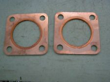 LAND ROVER SERIES 1 SQUAR EXHAUST GASKETS 1 FOR TAIL BOX 1 FOR MANIFOLD NEW