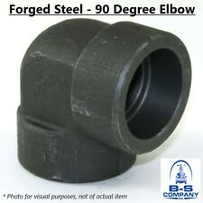 90 Degree Elbow A105 Forged Steel Pipe Fitting 1/2