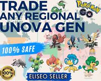 Panpour Generation 5 Unova ALL Pokemon Go Regional Boost Catch Service Pansage