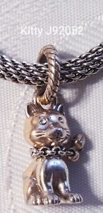 Brighton Kitty cat kitten Swarovski pendant charm J92062 B519