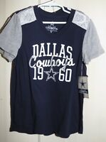 Dallas Cowboys Authentic Youth M Medium or L Large T-Shirt New with Tags NFL
