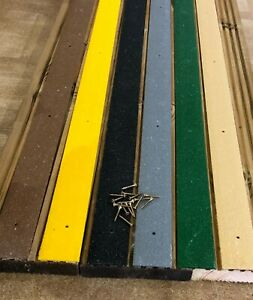 GRP Anti Slip Decking Strips 10 pieces x 1000mm Free Drilling and Screws