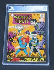 World's Finest #177 PGX 8.0 Superman Batman Joker DC Comics 1968
