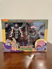 NECA TMNT Teenage Mutant Ninja Turtles Shredder and Krang Target 2 Pack Sealed