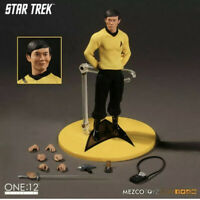 Mezco Star Trek Sulu One:12 Collective Action Figure NEW - Original