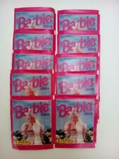10 pochettes Barbie Fantasy - Panini - no merlin upper deck topps magic box int.