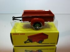 DINKY TOYS ATLAS 25S TRAILER 1 AXLE - REMORQUE 2 ROUES - EXCELLENT IN BOX
