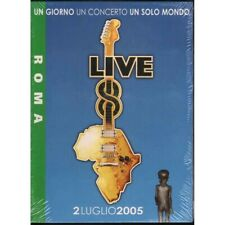 AA.VV. DVD Live 8 Roma / EMI Capitol Records Sigillato 0094634226691