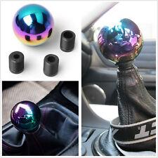 Colorful Chrome Ball AT/MT CarVehicleGearShifterShiftLeverKnob Head JDM