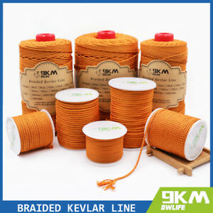 Braided Kevlar Line Fishing Assist Cord Camping Survival Rope Made with Kevlar
