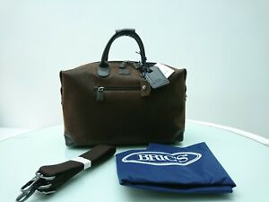 Bric's Holdall - BNWT Life Special Clipper Holdall, Brown RRP: £290