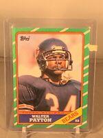1986 Topps All Pro Walter Payton Football Card! #11, PSA NM/ MINT?