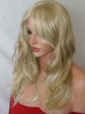 Fashion Women Ladies Long Costume Sleek Straight Wavy Brown Blonde Red Wigs -K