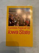 1982 Iowa State Cyclone Football Media Guide
