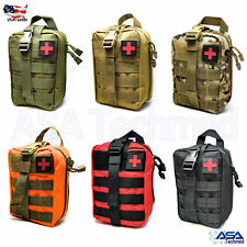 Tactical MOLLE Rip Away EMT Medical First Aid IFAK Pouch (Bag Only)
