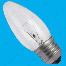 Bombilla incandescente de interior de color principal blanco de vela