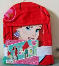 Disney Princess Ariel Cotton HOODED BATH TOWEL