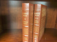 Easton Press-Woodrow Wilson by Walworth 2v-Library of the Presidents-NEAR FINE