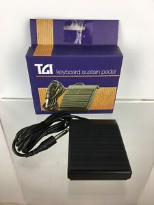 New TGI Keyboard Piano Sustain Pedal TGSP1 Damper Momentary Foot Switch