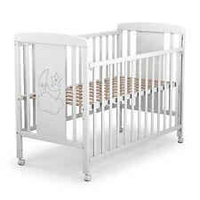 cuna para beb modelo cielo lateral abatible y posiciones somier de madera
