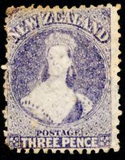 NZ CHALON 1864 3d LILAC SG117, MNG.