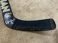 ED BELFOUR Early 2000's Signed Dallas Stars Game Used Hockey Stick NHL COA