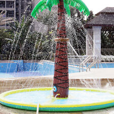 Inflatable Coconut Palm Water Sprinkler Fountain Swimming Mat Toy For Kids