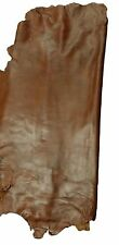 REED LEATHER HIDES - WHOLE SHEEP SKIN 7 to 10 SF - Brown Color - Quality Skins