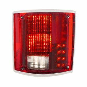 United Pacific RH Sequential LED Tail Lamp W/ Trim 1973-87 Chevrolet GMC Truck