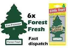 "MAGIC TREE ""LITTLE TREE"" FOREST FRESH CAR AIR FRESHENER PACK OF 6"