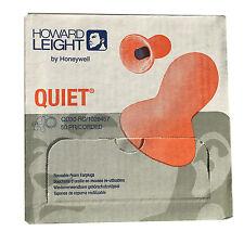 Box Quiet Corded Earplugs HOWARD LEIGHT by Honeywell Reusable Ear Plugs