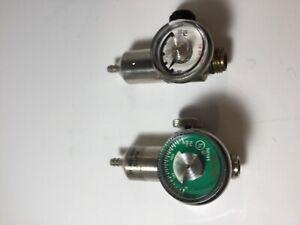 Regulator for Calibration gas MALE 0.5 LPM Flow Rate, Fits 54 L & 103Ldisposable