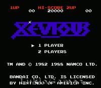 Xevious - NES Nintendo Game
