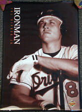 Cal Ripken Jr. IRONMAN Baltimore Orioles 1996 Costacos Brothers POSTER