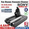Sony Cell 4000mAh Battery For Dyson V6 DC58 DC59 DC61 DC62 DC72 DC74 SV09 Animal